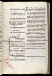 A Page with Gloss, in The Book of the Prophet Isaiah With Explanatory Notes
